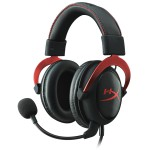 Casque-Micro KINGSTON HyperX Cloud II ~ Noir/Rouge