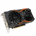 Carte graphique GIGABYTE GeForce GTX 1050 TI OC - 4Go  (GV-N105TOC-4GD)